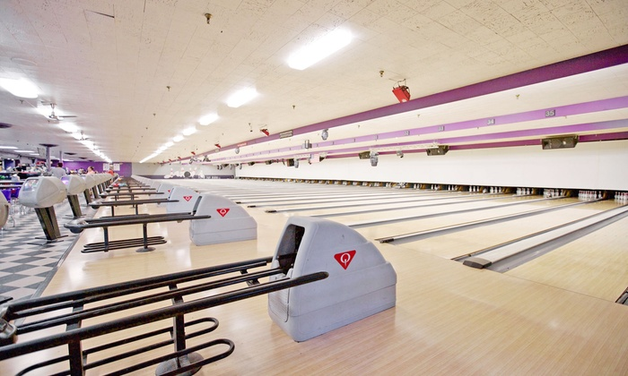 Diversey River Bowl - Lincoln Park: Bowling Package for Five at Diversey River Bowl (Up to 61% Off). Two Options Available.