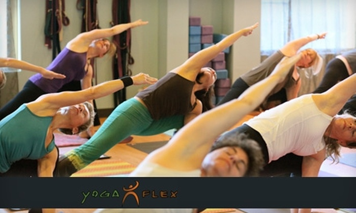 YogaFlex - Provincetowne: $50 for One Month of Unlimited Classes at YogaFlex ($135 Value)