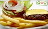 Joe's to Goes - Multiple Locations: $8 for Two Half-Pound Burgers, Two Fries, and Two Soft Drinks at Joe's to Goes (Up to $16.74 Value). Three Locations Available.