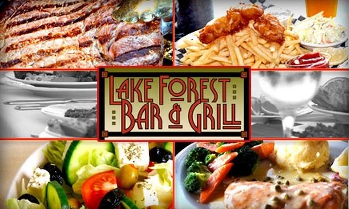Lake Forest Bar and Grill - Lake Forest Park: $10 for $25 Worth of Fancy Bar Grub and Drinks at Lake Forest Bar and Grill