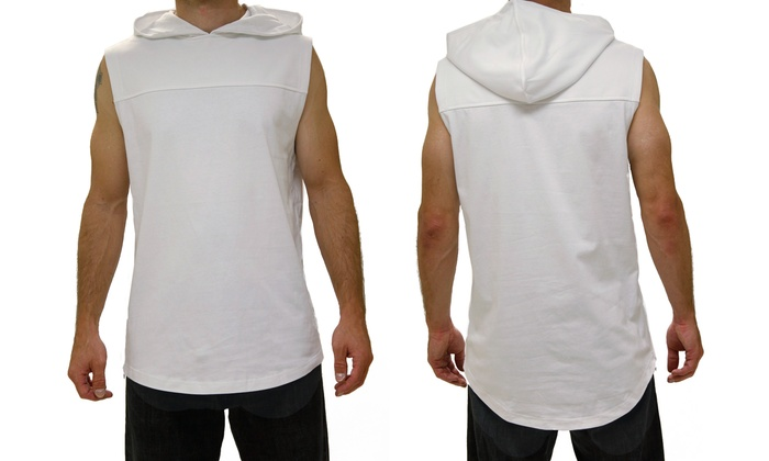 a73bfd815 Blak by Rocawear Men's Hooded Muscle Tee (Size S) | Groupon
