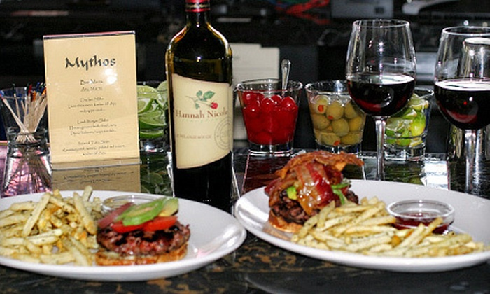 Mythos - San Carlos: $15 for $30 Worth of California-Mediterranean Cuisine and Drinks at Mythos