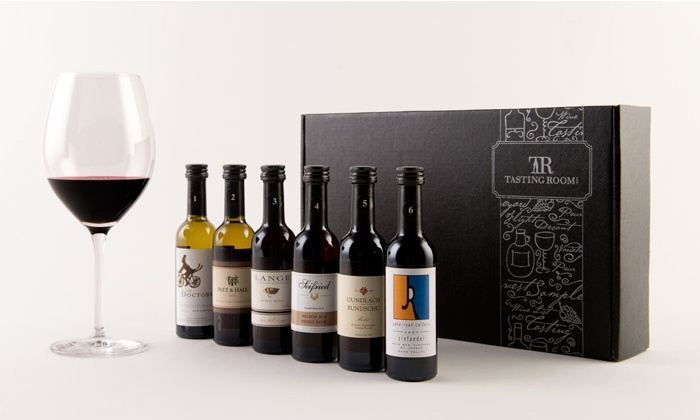 Tasting Room: $29.99 for Six Mini and Six Full-Size Bottles of Wine, Including Shipping from Tasting Room ($99.94 Value)