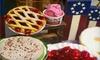 Pie Town Cafe - Shenandoah: Café Cuisine and Desserts or Catering at Pie Town Dessert Shop & Cafe in Shenandoah (Half Off)