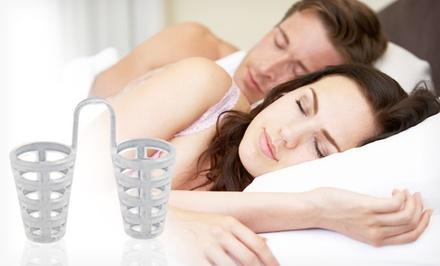 SnorePin Snoring and Apnea Aid
