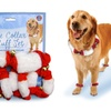 Bow Wow Pet Jingle Bell Cuffs and Collar Set