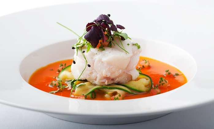Three Courses With Wine For Two for £49 at Podium Restaurant and Bar (27% Off)