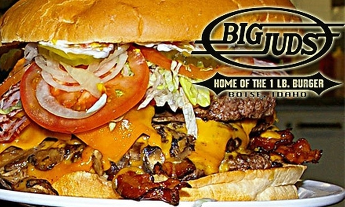 Big Juds - Southeast Boise: $5 for $10 of Burgers, Sides, Fries, and More at Big Juds