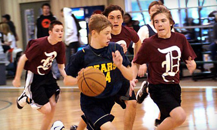 The Courthouse Athletic Center - Portage: $35 for a Kids' Basketball or Volleyball Camp at The Courthouse Athletic Center in Portage ($85 Value)