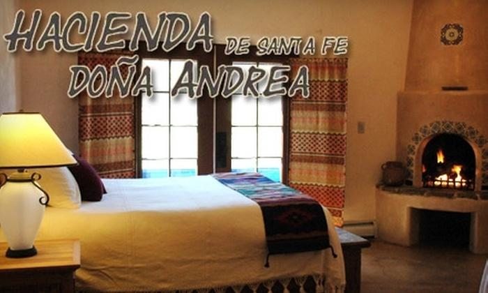 Hacienda Doña Andrea de Santa Fe - Santa Fe South: $99 for a One-Night Stay at Hacienda Doña Andrea de Santa Fe (up to $249 value)