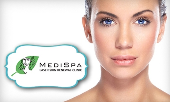 Medi Spa Laser Skin Renewal Clinic - Downtown Winnipeg: $129 for Three Pulsed Light Hair-Removal Treatments at Medi Spa Laser Skin Renewal Clinic (Up to $439.20 Value)