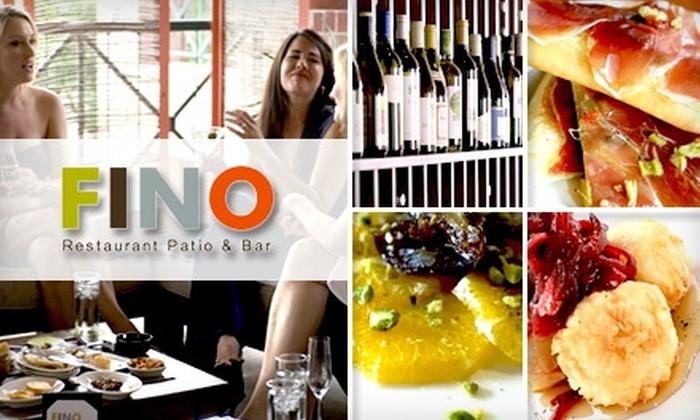 FINO Restaurant Patio & Bar - West University: $15 for $30 Worth of Sunday Brunch at FINO Restaurant Patio & Bar
