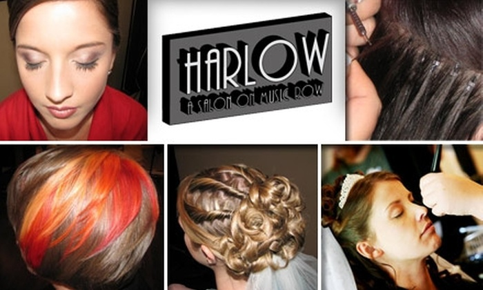 Harlow Salon - Nashville-Davidson metropolitan government (balance): $40 for $90 Worth of Hair or Makeup Services at Harlow Salon