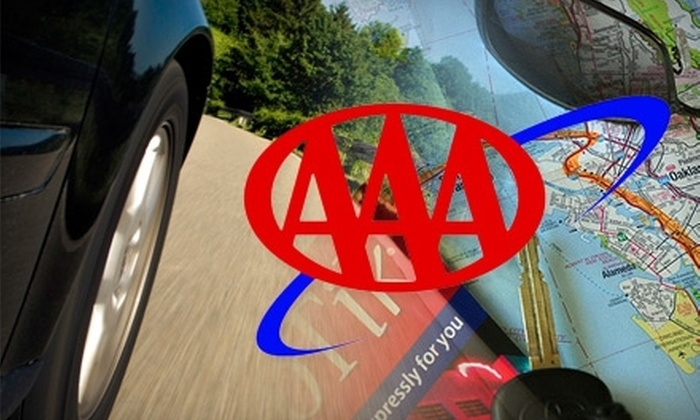 AAA: $25 for a One-Year Classic Primary AAA Membership ($50 Value)