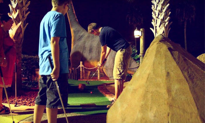Volcano Island Minature Golf - Orlando: Mini-Golf Outing for Two or Four at Volcano Island Miniature Golf
