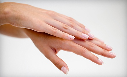 Manicure and Spa Pedicure (a $29 value) - Elite Beauty Institute in Westmont