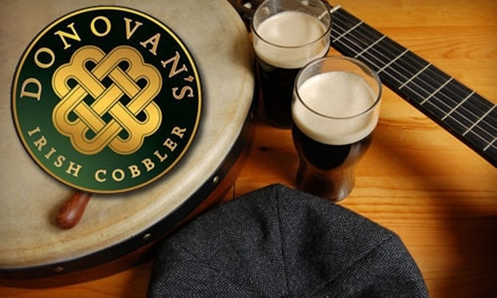 Donovan's Irish Cobbler - Woodstock: $10 for $20 Worth of Irish Fare and Drinks for Dinner or $6 for $12 During Lunch or Breakfast at Donovan's Irish Cobbler in Woodstock