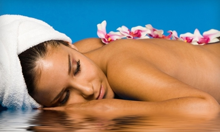 Blu Water Medi Spa Salon - Monroe: Salon and Spa Services at Blu Water Spa Salon. Two Options Available.