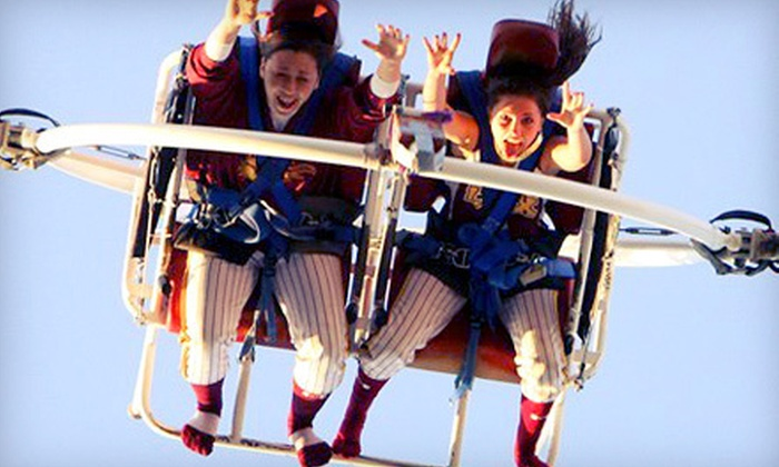 Thrills Unlimited: The Ejection Seat - Taku / Campbell: One or Three Rides for Two at Thrills Unlimited: The Ejection Seat (Up to 60% Off)