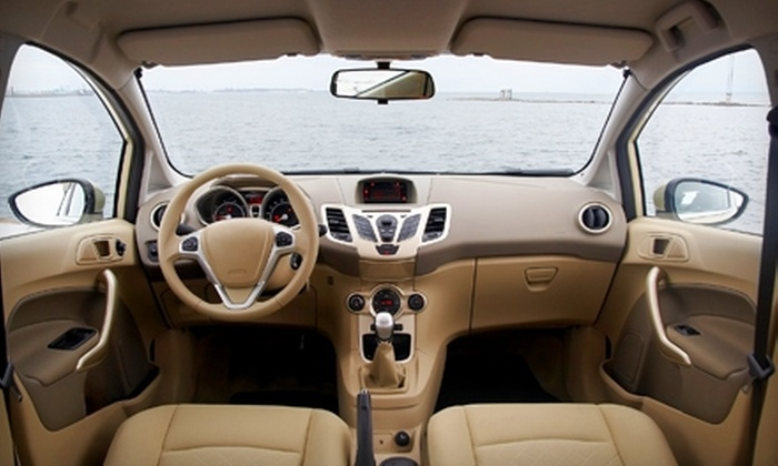 Floyd Glass & Window - Saint Charles: $54 for Interior Auto Detailing at Floyd Glass & Window in St. Charles (Up to $129 Value)