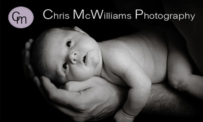 """Chris McWilliams Photography - Multiple Locations: $65 for a One-Hour Shoot, One 8""""x10"""" Print, Two 5""""x7"""" Prints, and One 4""""x6"""" Print at Chris McWilliams Photography ($190 Value)"""