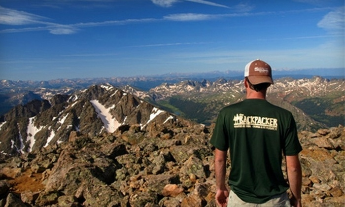 The Backpacker Quality Gear - Mount Pleasant: $20 for $40 Worth of Outdoor Apparel and Equipment at The Backpacker Quality Gear