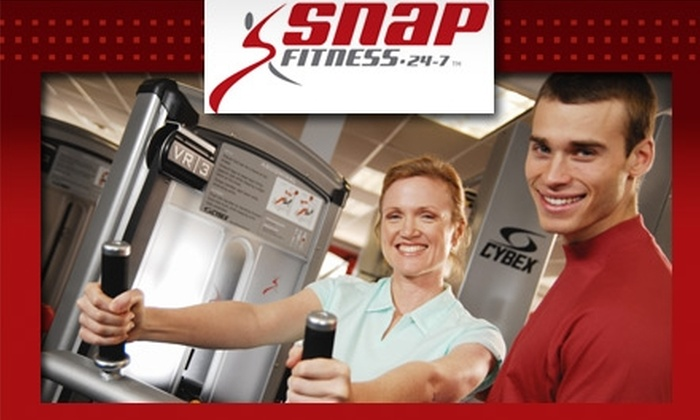 Snap Fitness - Grand Rapids - Multiple Locations: $30 for a Total Fitness Package at Snap Fitness ($243.85 Value)