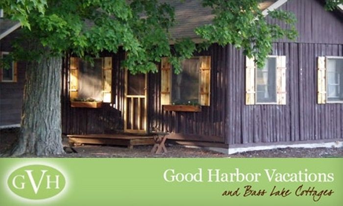 Good Harbor Vacations - Cleveland: $149 for One-Night Stay in Four-Person Cabin at Good Harbor Vacations Near Sleeping Bear Dunes National Lakeshore ($375 Value) in Maple City