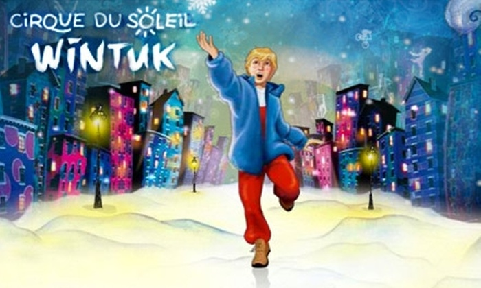 """WaMu Theater at Madison Square Garden  - New York City: $40 for 1 Side Orchestra or Center Mezzanine Ticket to Cirque du Soleil's """"Wintuk"""" at Madison Square Garden. Buy Here for Saturday, December 26, 11 a.m. Additional Dates, Times, and Seating Options Below."""