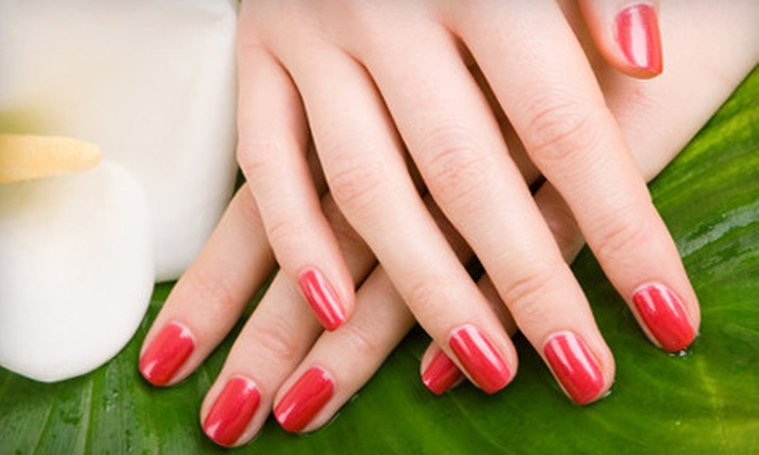Releaf Day Spa - Limona Improvement: Two Gel or Spa Manicures or Full Set of Nail Extensions at Releaf Day Spa in Brandon (Half Off)