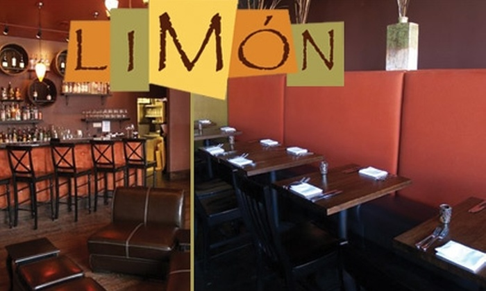 Limón - City Park West: $15 for $30 Worth of Latin American Cuisine and Drinks at Limón