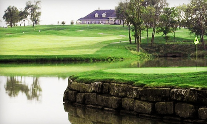 Tiffany Greens Golf Club - Kansas City: $69 for 18-Hole Golf Outing with Cart, Range Balls, and Lunch for Two at Tiffany Greens Golf Club (Up to $146 Value)