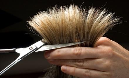 Krystle Hendrickson at B.A. Snips: Haircut - Krystle Hendrickson at B.A. Snips in Penfield