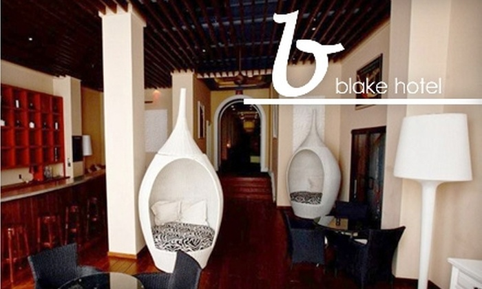 Blake Hotel - Second Ward: $79 for an Overnight Stay in a Deluxe Room, Bottle of Champagne, and Continental Breakfast for Two at the Blake Hotel