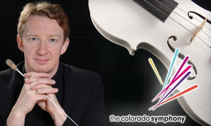 Colorado Symphony Orchestra - Central Business District: $19 for One Ticket to a Colorado Symphony Inside the Score Performance (Up to $80 Value). Four Performances Available.
