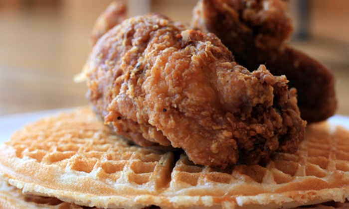 Gussie's Chicken and Waffles - Western Addition: $15 for $30 Worth of Southern Soul Food at Gussie's Chicken and Waffles