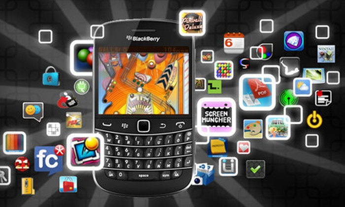 Mobiroo: $10 for $25 Worth of Apps for Blackberry Phones or Android Devices from Mobiroo