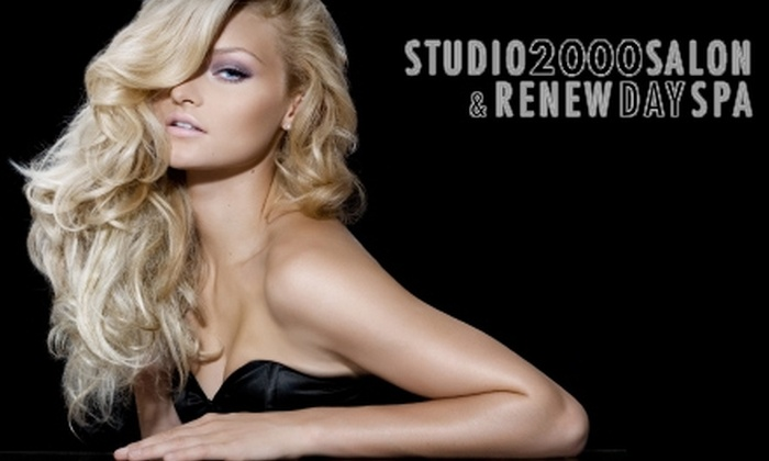Studio 2000 Salon & Renew Day Spa - Clarence: Salon and Spa Services at Studio 2000 Salon & Renew Day Spa. Choose from three options.