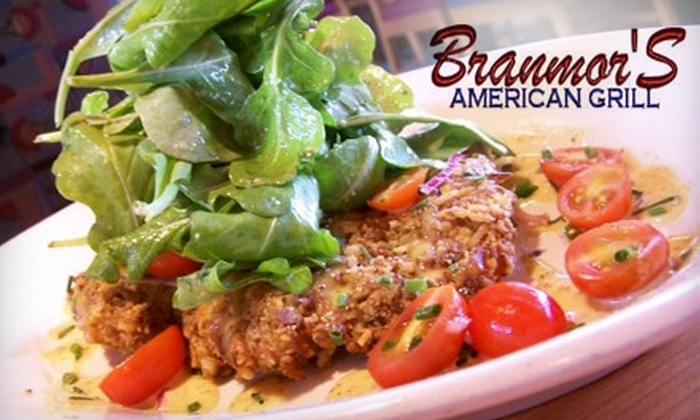 Branmor's American Grill - Bolingbrook: $25 for $50 Worth of Chophouse Fare at Branmor's American Grill in Bolingbrook