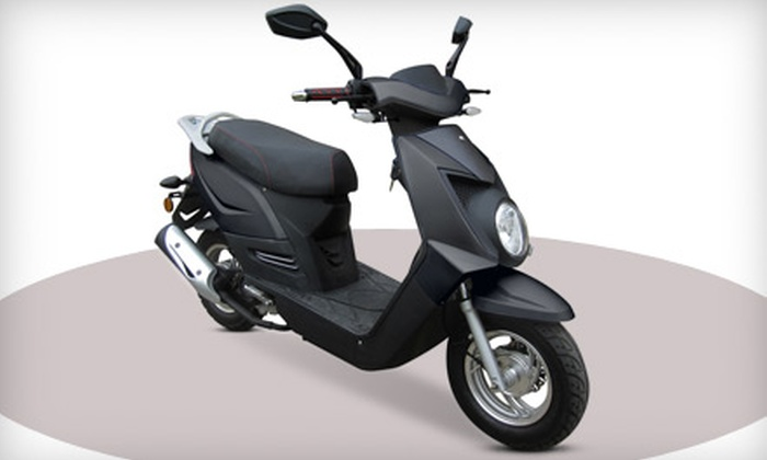 Chironex Motorsports Inc. - Greenbelt: Chase 50 Scooter or Vinny 50 Scooter Including Shipping from Chironex Motorsports Inc. (40% Off)