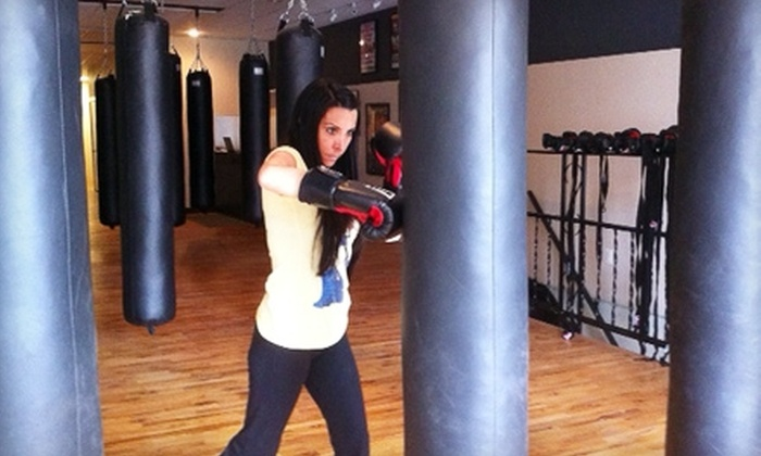 Smash Hit Kickboxing Club - Pontiac Commercial Historic District: $20 for a Five-Class Pass to Smash Hit Kickboxing Club in Pontiac