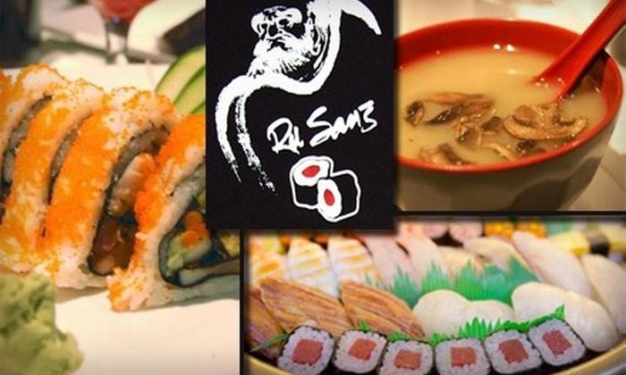 Ru Sans - Downtown Nashville: $15 for $30 Worth of Japanese Food & Drinks at Ru San's