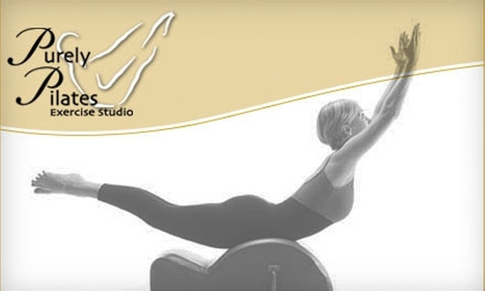 Purely Pilates - San Carlos: $39 for Five Mat Classes ($100 Value) or $80 for Five Reformer Classes ($175 Value) at Purely Pilates in San Carlos
