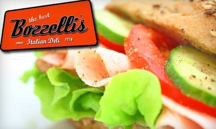 Bozzelli's Italian Deli - Newington: $7 for $15 Worth of Sandwiches, Pizza, and More at Bozzelli's Italian Deli