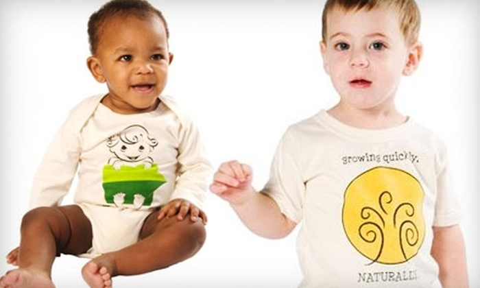 The Green Creation: $20 for $40 Worth of Organic Baby Clothes from The Green Creation