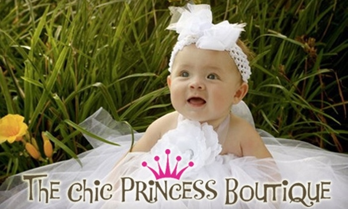 The Chic Princess Boutique: $10 for $20 Worth of Children's Apparel & Accessories at The Chic Princess Boutique