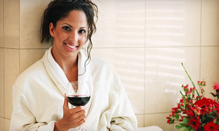 ProSkin Esthetics and Laser Center - Summit Hill: Facial Package with Wine for One or Two at ProSkin Esthetics and Laser Center in Saint Paul (Up to 56% Off)