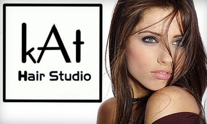 kAt Hair Studio - Sioux Falls: $37 for a Cut, Deep Conditioning, Hair Glossing, and Styling at KAt Hair Studio ($75 Value)