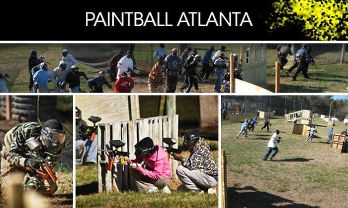 Paintball Atlanta - Atlanta: 58% Off a Full Day of Paintball at Paintball Atlanta (Includes Equipment and 300 Paintballs)