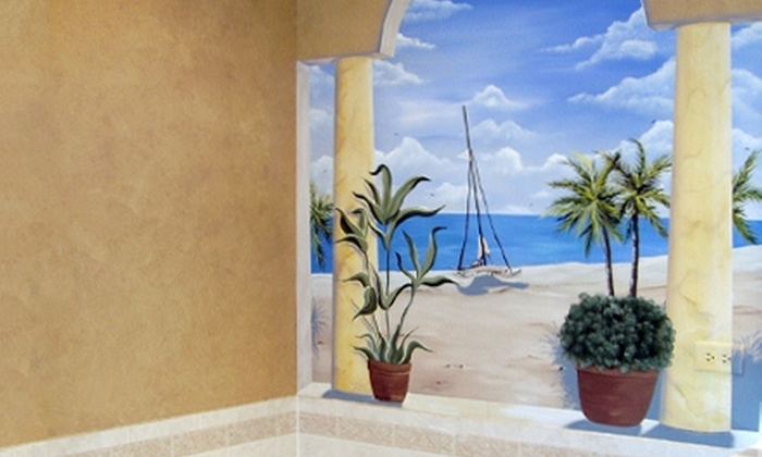 Art In Vision, Inc. - Wheaton: $99 for Two Coats of Paint for One 14'x14'x8' Room Including the Ceiling from Art In Vision, Inc. ($225 Value)
